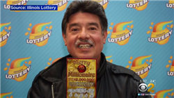 High-School Janitor wins $2 million with Illinois lottery!