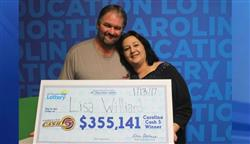 Woman wins $350,000 Cash 5 jackpot for the second time!