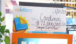 Family Claim $72 Million SuperLotto Plus® Jackpot Prize!