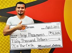Maryland Man Wins Large Lottery For The Second Time!