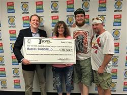 Waitress wins $292K with Michigan Lottery's game!