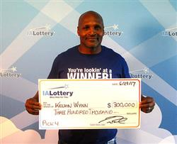 Iowa Man Wins $300,000 Lottery Prize From His Dream!