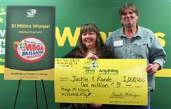 One Million Lottery Prize Comes To Couple's Aid!
