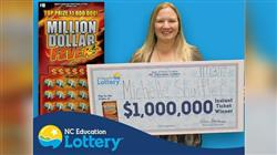 Another NC Woman Wins Lottery Jackpot Twice in One Day!
