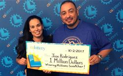 Sugar Rush Leads to $1,000,000 Lottery Win for L.A Player!