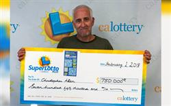 Man Wins $750,000 With the California Lottery!