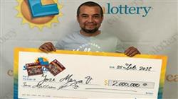 Man, From Contra Costa County Claims $2M Win!