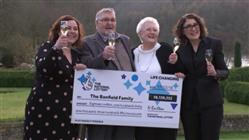 Oldest UK Lottery Winners Claim Millions!