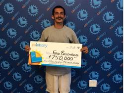 4 Fails, 1 $750,000 Win for Kings County Man!