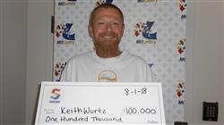 Missouri Man Grateful After $100,000 Win!