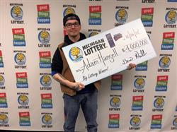 24-year-old man wins $4 Million in Michigan Lottery's Instant game!
