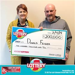 Wife Doesn't Believe Husband Won $200,000 Lottery Prize!