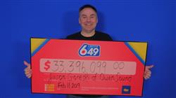 Canadian Man Wins $33M With Ontario Lottery!
