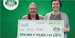Grandfather Gifts $25,000 A Year for Life Prize to Granddaughter