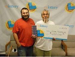 A 63-year-old retired auto mechanic won $650,000 in CA Lottery Game