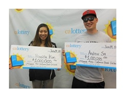 $2 Million  Florida Lottery Winner Playinf Scratch-Off Game!!