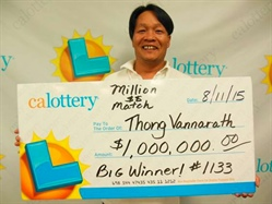 New Millionaire in California Lottery Million $$ Match Game!