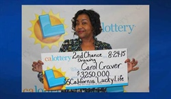 California Woman Wins $3.5 Million on California Lottery Lucky Life Ticket!