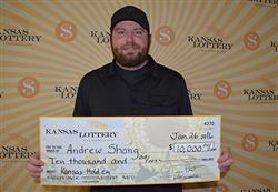 Man to use lottery winnings to open new business!