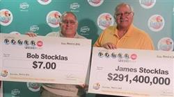 $291 Million jackpot won by Judge and 2 Friends!