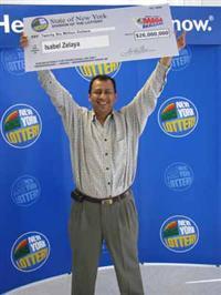 Isabel Zelaya- Mega Millions Winner
