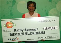 KathyScruggs -Powerball winner image