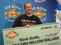Mega Millions winner- Mark Staffa Image
