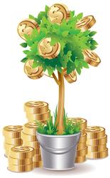 Powerball money tree