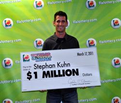 Stephan Kuhn-Florida Lottery winner image